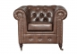 "Preview: MODELL:  "" CHESTERFIELD CLASSIC ""  HOCKER GROSS ( 100 X 100 ) IN  INDUSTRIAL STYLE LEDER LOOK PREMIUM *)"