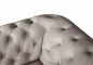 "Preview: MODELL:  "" CHESTERFIELD CLASSIC ""  HOCKER - GROSS ( 100 X 100 cm ) IN STOFF AMORE PREMIUM *)"