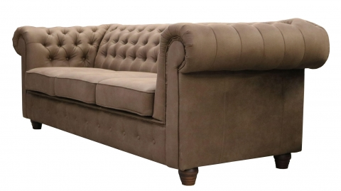 "MODELL:  "" CHESTERFIELD EMPIRE "" 3-SITZER SOFA IN SAMTSTOFF VELVET PREMIUM"