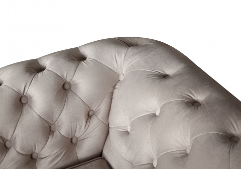 "MODELL:  "" CHESTERFIELD CLASSIC ""  2 - SITZER SOFA IN  STOFF AMORE PREMIUM *)"