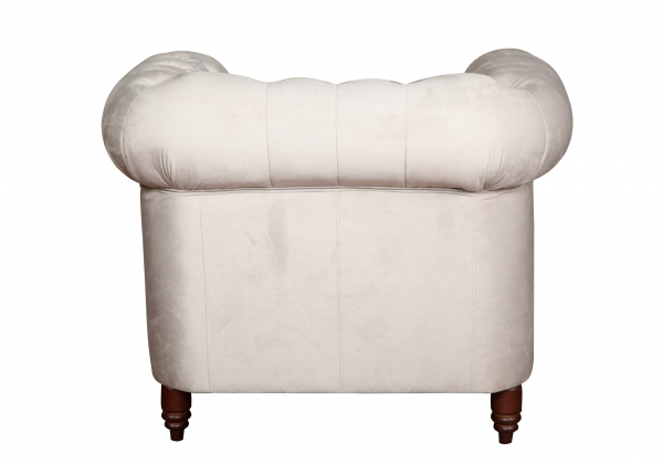 "MODELL:  "" CHESTERFIELD CLASSIC ""  HOCKER - GROSS ( 100 X 100 cm ) IN STOFF AMORE PREMIUM *)"